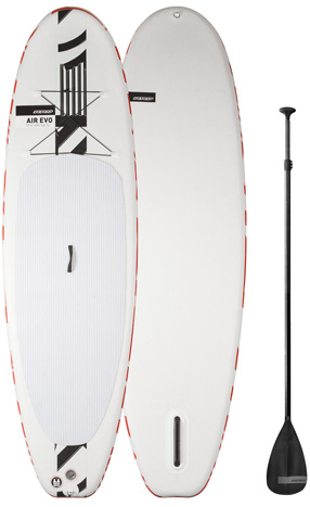 RRD Air EVO iSUP Board with Fibre Paddle & Leash