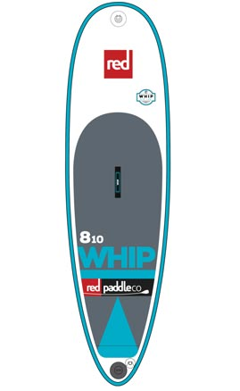 Red Paddle Co. Whip Eight Ten MSL Surf iSUP