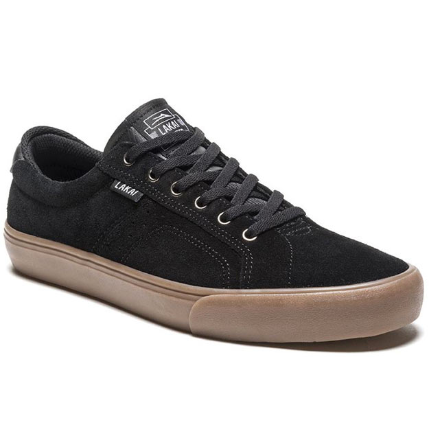Lakai Flaco in Black Gum Suede