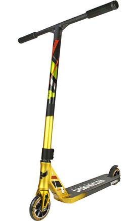 Dominator-Team-Edition-Scooter-Gold-Black