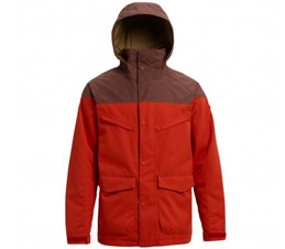 Burton Breach Bitters Chestnut Waxed Insulated Jacket