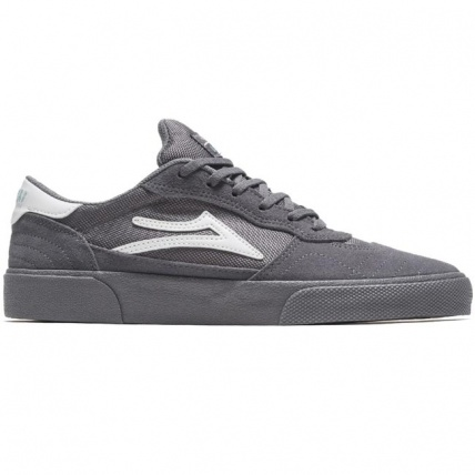 Lakai Cambridge Grey Suede Skate Shoe