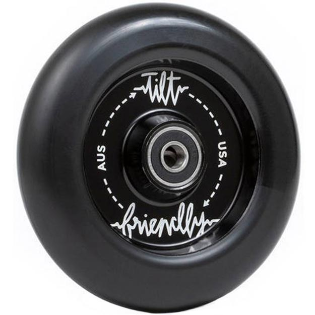 Tilt X Friendly Full Core Pro Scooter Wheels Black