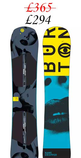 Burton Name Dropper Mens Snowboard