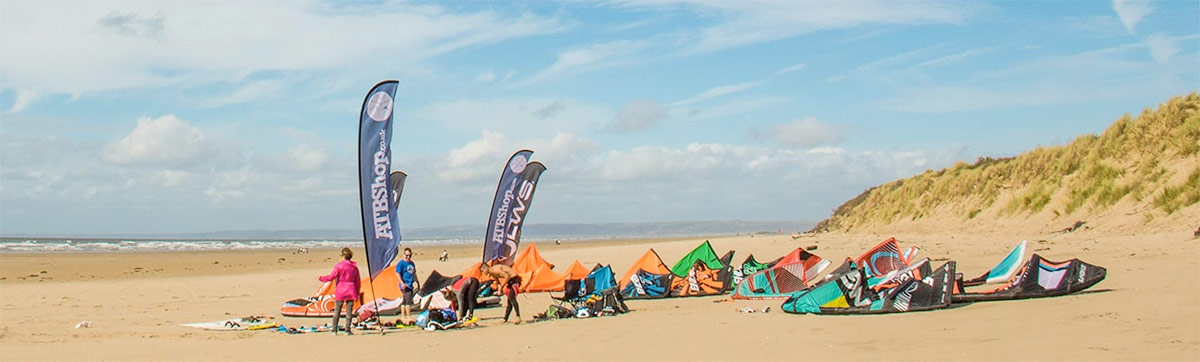 ATBShop Kite Demo Pembrey 2016