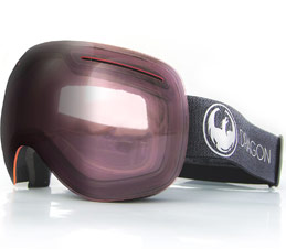 Dragon X1 Echo Photochromic Light Rose Snow Goggles