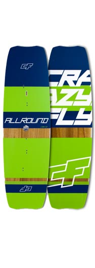 CrazyFly All Round Kitesurf Board