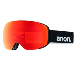 Anon M2 Black Red Sonar Zeiss Snowboard Goggles