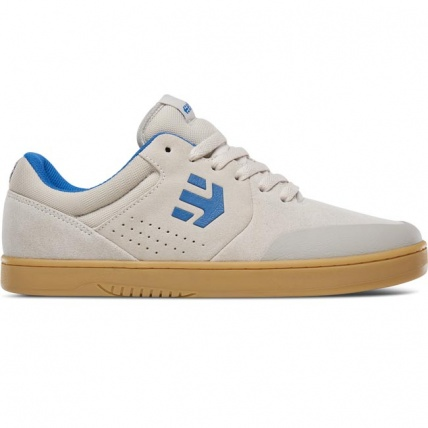 Etnies Marana Skate Shoe White Blue and Gum