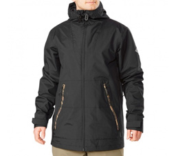 Dakine Glenwood Mens Snowboard Jacket in Black Field Camo
