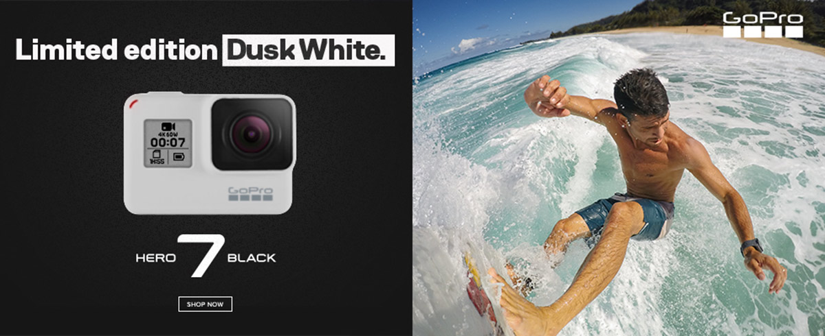 GoPro HERO7 Black Dusk White Special Edition