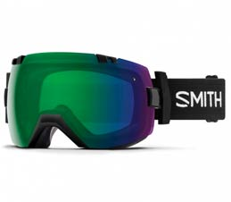 Smith I/OX Black ChromaPop Everyday Green Snowboard Goggles