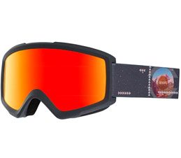 Anon Helix 2.0 Rush Red Solx Snowboard Goggle
