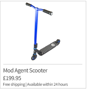 Mod Agent Blue Scooter