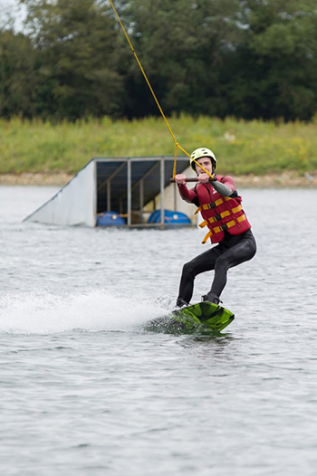 ATBShop Learning To Wakeboard at WMSki