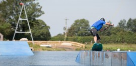 Wakeboarding at WMSki in the Cotswolds