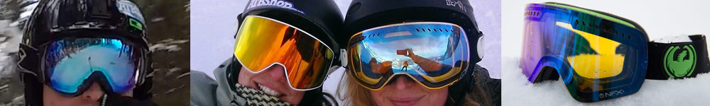 snowboard goggle lens tint and colours