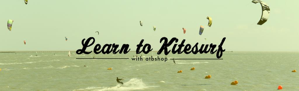 Learn to kitesurf banner atbshop