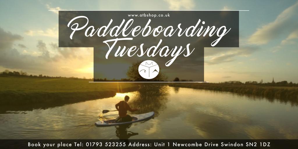 Paddleboarding TUesdays