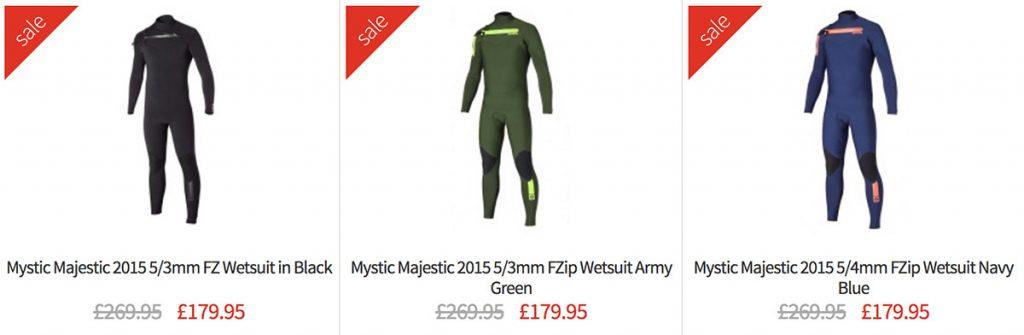 Mystic Majestic Wetsuit Sale