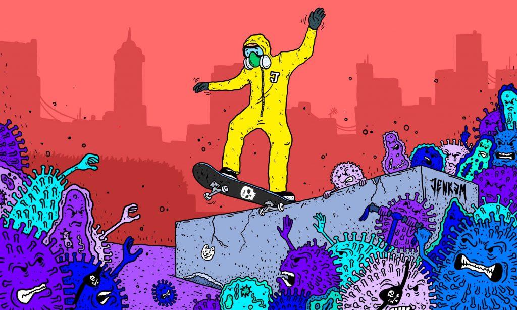 Jenkemmag Corona Skateboarding