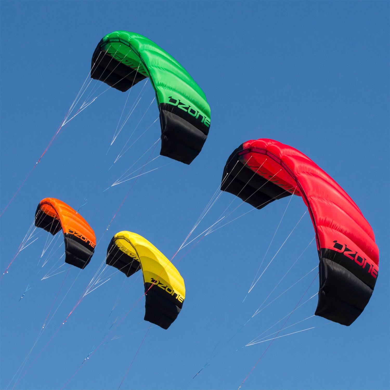 Ozone Ignition V2 Kitesurfing Trainer 3 Line Power Kite ...