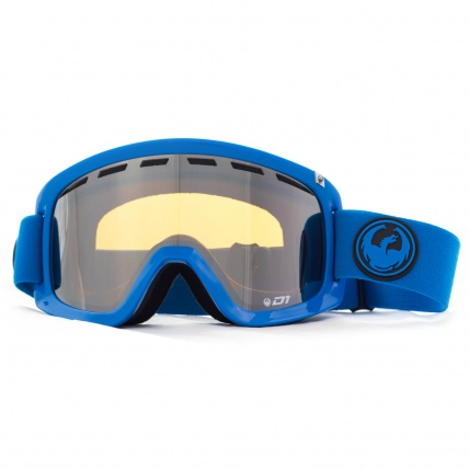 Dragon D1 Azure Ion Goggles Front View