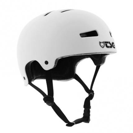 TSG Evo Helmet in White