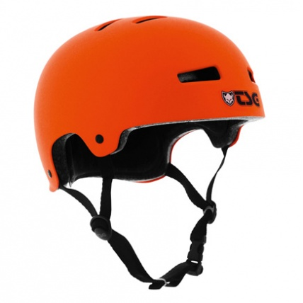 TSG Evo Helmet in Orange