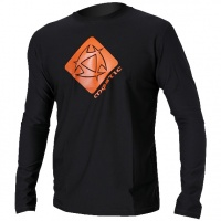 Mystic - Star Quick Dry Long Sleeve T-Shirt Rash Vest Black