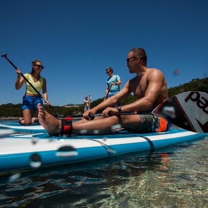 Red Paddle Co Ten Six SUP Ride chill lifestyle