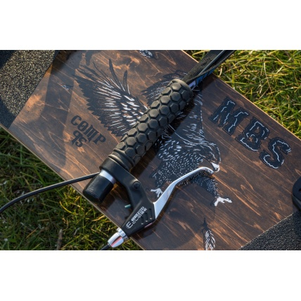 MBS Comp95X Mountainboard Top Deck Detail