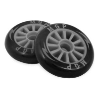 MGP - Pro Plastic Wheels Grey 100mm
