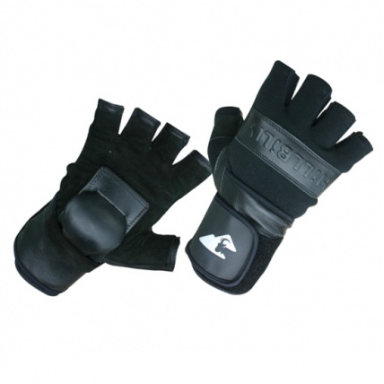 Hillbilly Half Finger Wrist Guard Gloves