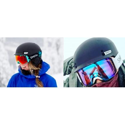 Smith Gage Matte Black Helmet Views