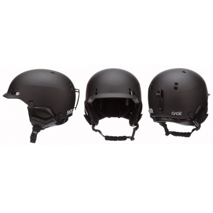 Smith Gage Matte Black Helmet Photos