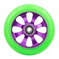 Fasen - 8 Spoke 110mm Wheel Green Purple