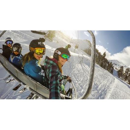 GoPro Helmet Front and Side Mount Kit Snowboard Ski Photo