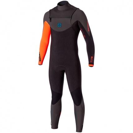 Mystic Crossfire 2016 Front Zip Wetsuit Coral