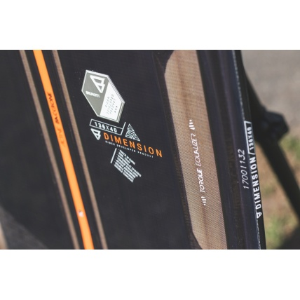 Brunotti Dimension 2018 Kitesurfing board torque equaliser detail