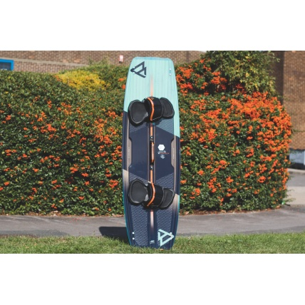 Brunotti Dimension 2018 Kitesurfing board front with high performance pad set (sold separately)
