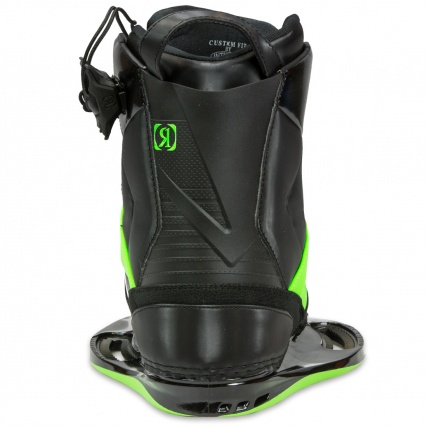 Ronix One Wakeboard Boots Black And Green 2014 Atbshop Co Uk