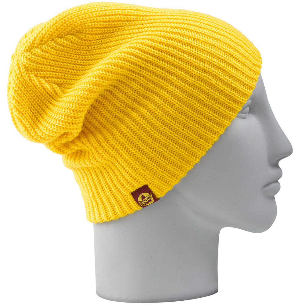 Burton All Day Long Beanie in Blazed - Beanies   Hats - Yellow ... 3c953dcf627