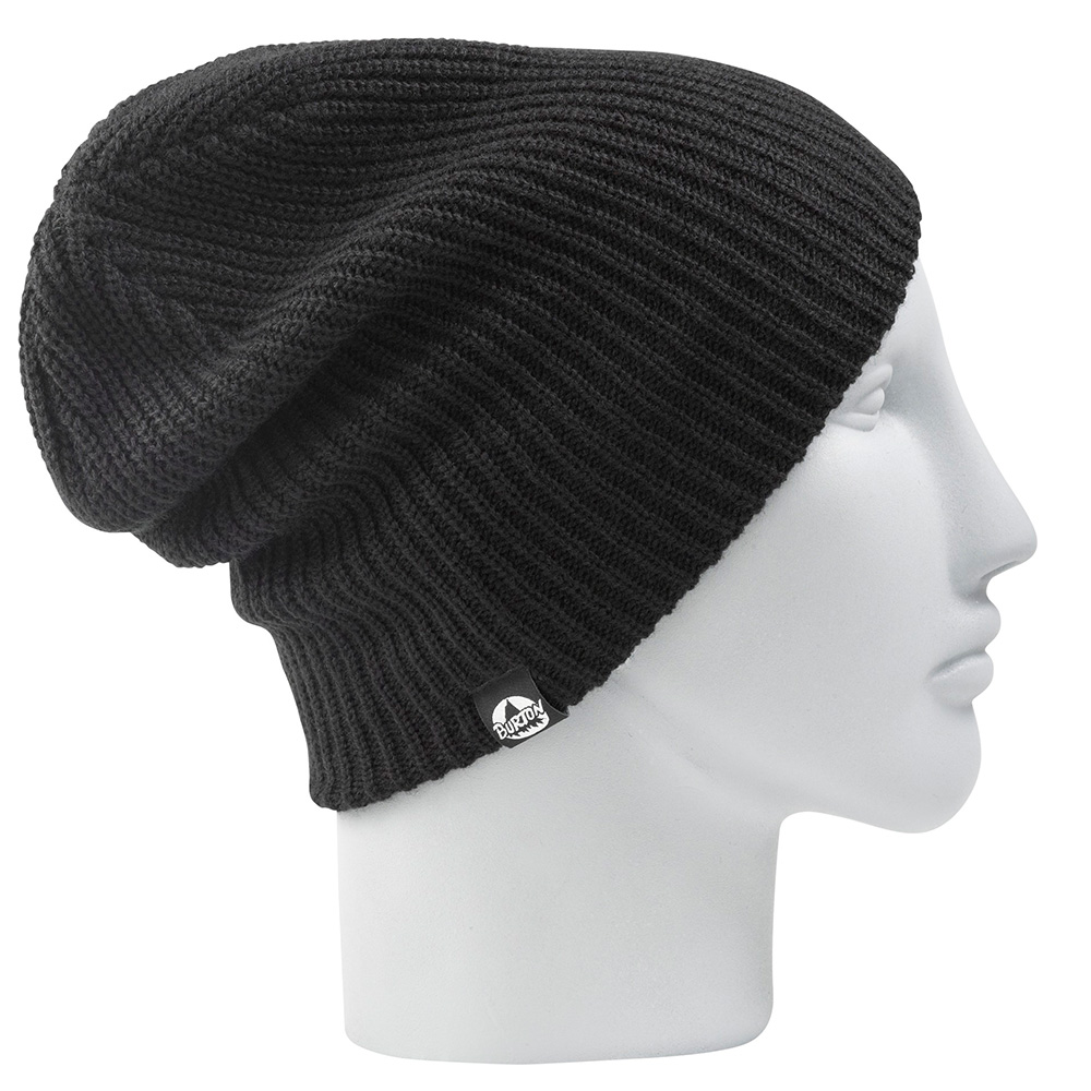 Burton All Day Long Beanie in Black - Beanies   Hats - Beanies ... 60b766af921