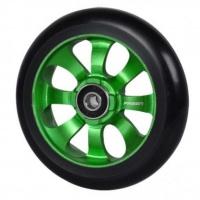 Fasen - 8 Spoke 110mm Wheel Black Green