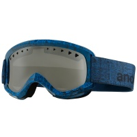 Anon - Helix Snowboard Goggles Etched Silver