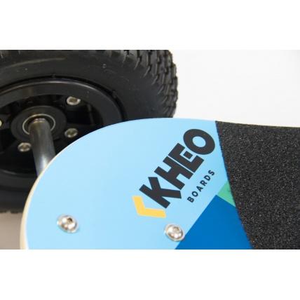 Logo details on Kheo Core V2 Mountainboard