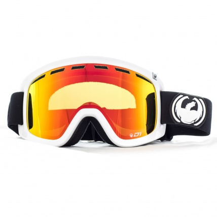 Dragon D1 Inverse Red Ion Goggles Front