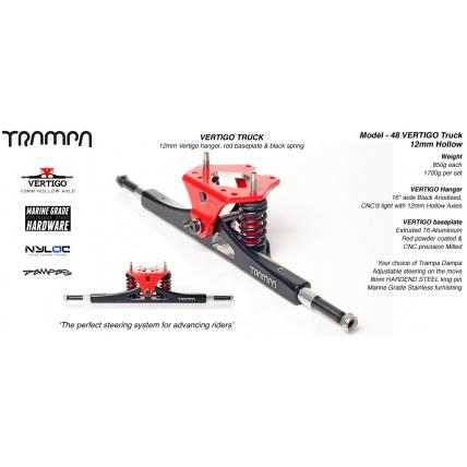 trampa vertigo alloy trucks detail