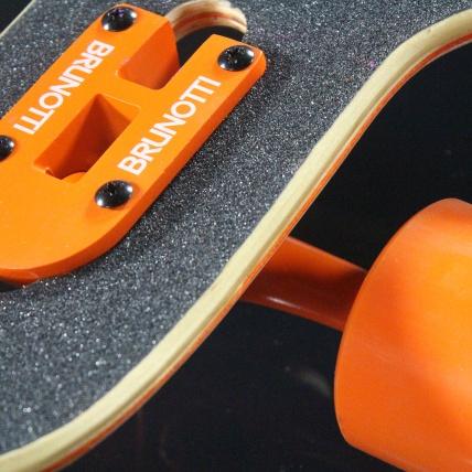 Brunotti Bob Longboard Orange and White